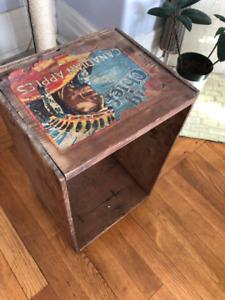 Antique/Vintage Apple Crate