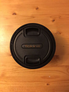 Brand new used once, 11-20mm f2.8 Tokina lens