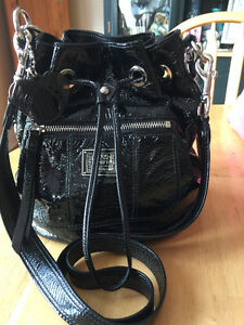 Coach Black Patent Cross Body