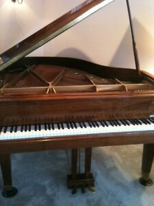 "Grand piano 5'8"" Howard by Baldwin owned by Gibson"