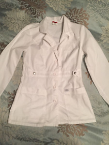 2 NWOT White lab coats for sale