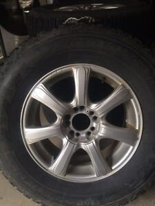 Winter force tires an rims