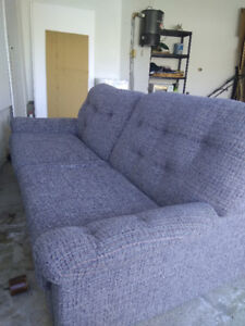 Double sofa bed with mattress