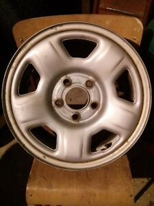 4 Ford OEM Steel Winter Rims 15 X 6.5J Very Good Condition