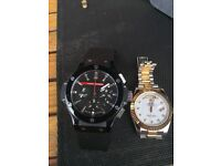 Rolex and Hublot for sale