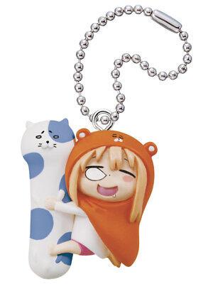 Himouto Umaru-Chan Mascot PVC Keychain Figure ~ Doma #B Sleep Body Pillow @86039