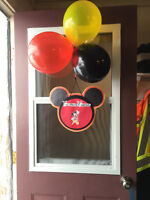 Handmade Mickey Mouse Decorations