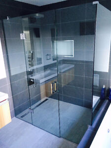 FrameLess Shower Glass Enclosures AND MORE... Stratford Kitchener Area image 7