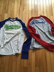 Abercrombie and Fitch shirts