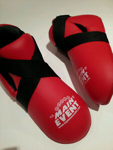 Brand New Top Ten red kickboxing foot pads men's large Gatineau Ottawa / Gatineau Area image 2