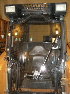 Case 1845c 12 Lexan Door Plus Sides. Polycarbonate Skid Steer Cab Enclosure