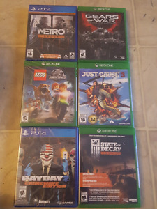 Games for sale cheap 12.oo ea or 3 for 30.oo
