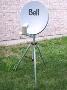 Bell dish and tri pod