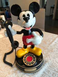 Mickey Mouse Telephone by Brooktel