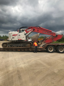2014 Linkbelt 225 Spin-Ace excavator - low hours