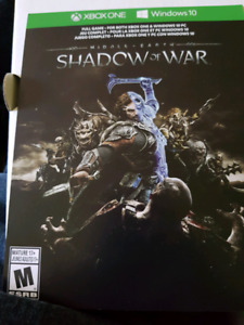 Xbox one s jeux shadow of war.