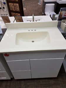 Cultured Marble top with sink. Display Clearance $ 229.00