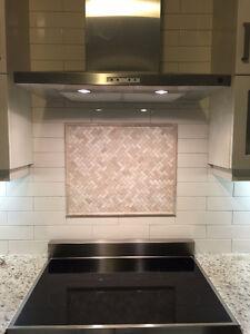 Professional Kitchen Backsplash Tile Installation From $200 Oakville / Halton Region Toronto (GTA) image 2