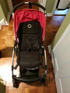 Good condition Bugaboo Bee - Red/ Black
