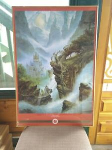 Framed Lord of the Rings Poster for Sale