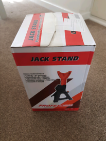 2 x axle stands (3tonne)