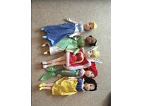 Disney princess dolls plush