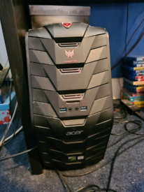 Acer Predator i5-6400 16GB 2TB GTX 1070 Gaming PC