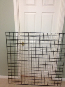 Gridwall Panel 4ft x 4ft  Black - Used