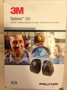 Earmuffs - Protection Against Noise - 3M Optime 101