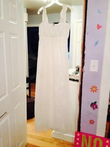 SIZE 14 WEDDING DRESS Cambridge Kitchener Area image 3
