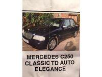 Mercedes C250 Classic TD Auto Elegance
