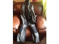 Motorbike leather
