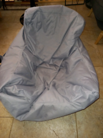 Grey bean bag cushion £15. RBW Clearance Outlet Leicester City Centre