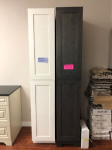 S-A-L-E vanity linen towers and upper storage cabinets!!!