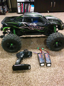 Traxxas X Maxx 8S RTR with batteries