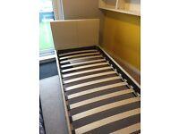 Single Cream Bed frame