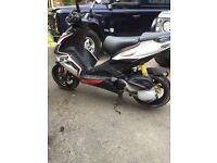 Aprilia SR50 R 2014 scooter only 4K miles
