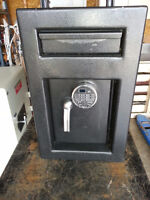 USED B-Rated Depository Safe
