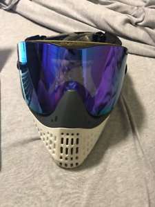 Empire E-Flex with Grey/White Bottoms and Purple Lens