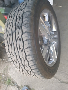 265/50/20 tires and mags