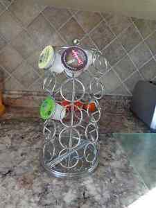 Tall K-cup holder