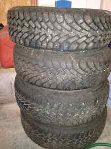 195/65R15 GoodYear Nordic Snow Tires