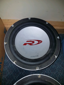 Alpine Type R12 DVC Subs and V12 AMP