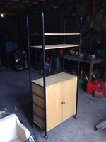 Bakers rack/TV stand