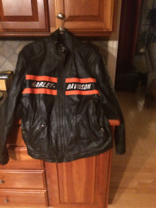 Leather jacket.  2XL but fits more like and XL