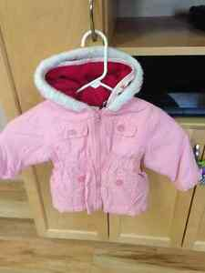 12 month 3- in -1 fall/winter jacket. Inner,outer,plus vest
