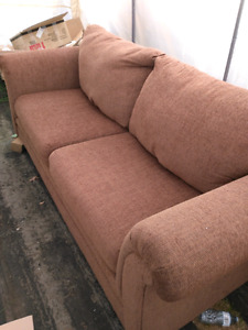Perfect condition brown sofa couch