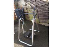 Gym air walker exercise machine