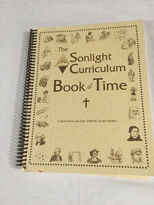 The Sunlight Curriculum Book of Time Kitchener / Waterloo Kitchener Area image 1