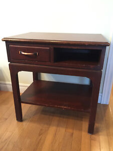 Nightstand - End Table - Side Table - Solid Wood